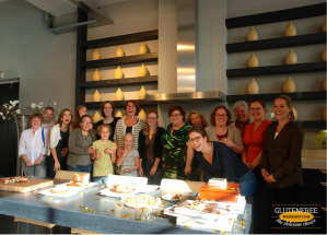 Hele groep glutenvrije bakwedstrijd 13 sep 2014