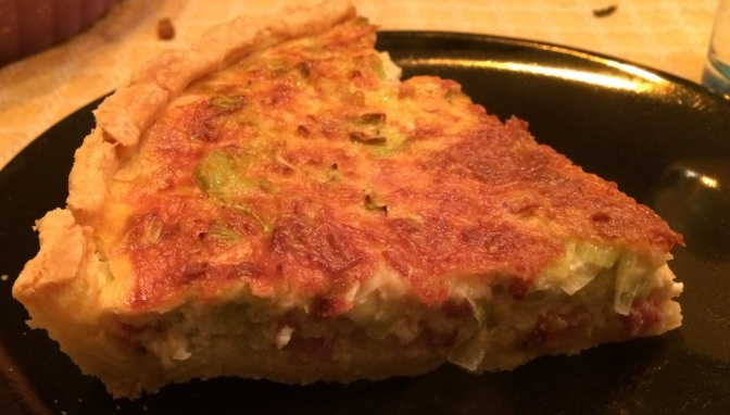 Gluten free quiche dough – cool is key